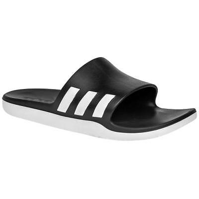 adidas AQ2166 Men's Aqualette Cloudfoam Slides Athletic Shower Shoes Flip Flops