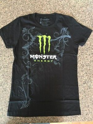 Monster Energy Drink T Shirt Women's Size Small