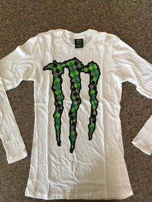 Monster Energy Drink Long Sleeve T Shirt Women's Size Extra Large