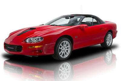 2002 Chevrolet Camaro SS 2002 Chevrolet Camaro Z28 6,383 Miles Rally Red 2dr Car 8 Cylinder Engine 5.7L/3