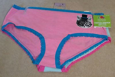 Fruit of the Loom Girls 2 Pack Cotton  Hipster Panties (Size XL) New #FT546