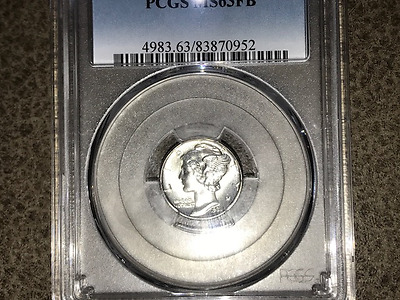 1931 10C Mercury Dime - PCGS MS63FB