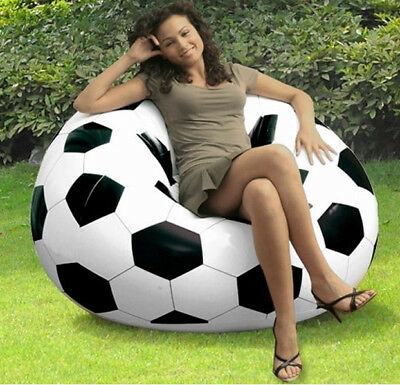 Jilong Inflatable Relaxing Chair Soccer/Football Design indoor or outdoor