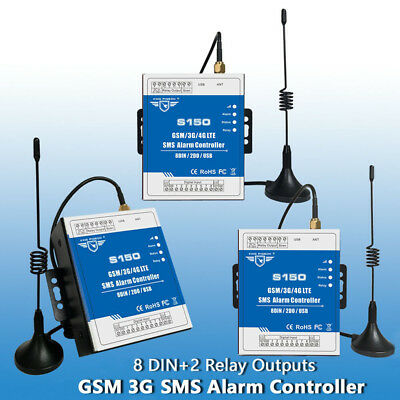 S150 GSM SMS Remote Controller System 2-Way Voice 3G Netwrok Home Alarm Security