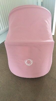Bugaboo Donkey Soft Pink Extendable Hoods Includes Rods And Clamps - 2 Available