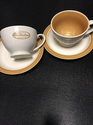 Tim Horton's Cup And Saucer Set