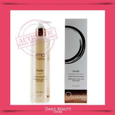 Osmosis Purify Enzyme Exfoliating Cleanser 200ml 6.7oz NEW SEALD FAST SHIP