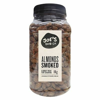 J.C.'s Quality Foods Smoked Almonds 1kg