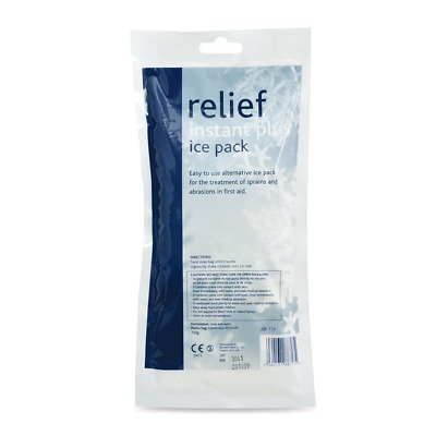 First Aid Instant Ice Pack Therapy Injury Sports Pain Relief. 150g , 10-PACK