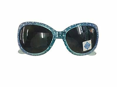Frozen Anna and Elsa Clear Turquoise Stars Kid's Girls Sunglasses