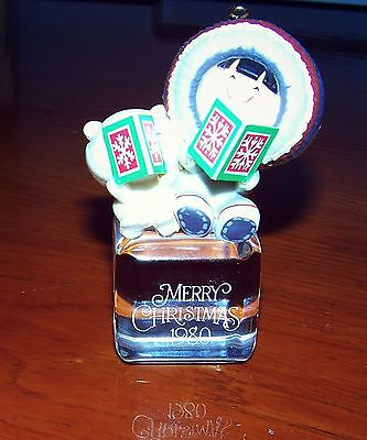 1980 Frosty Friends Hallmark Christmas Ornament A Cool Yule 1st in Series No Box
