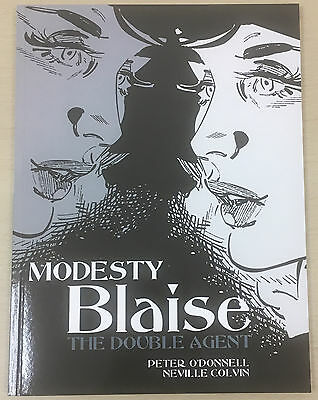 Modesty Blaise: The Double Agent: P O'Donnell, N Colvin: Titan Books 2011 PB NEW