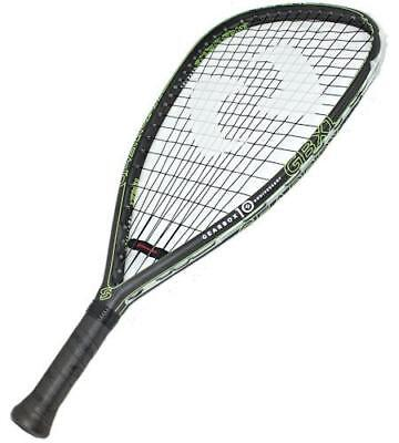GearBox GBX1 10th Anniversary Edition 170 Quad Yellow Racquetball Racquet