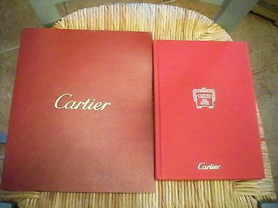 2 Cartier Jewelry Watch Catalogs Books, Hardcover Foreign Language and Paperback