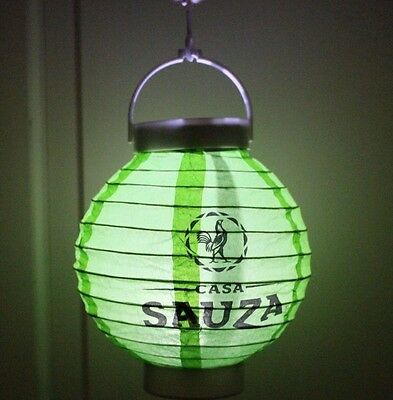 Casa Sauza Tequila Mini Paper LIGHTED Lantern Lights up Battery included NEW