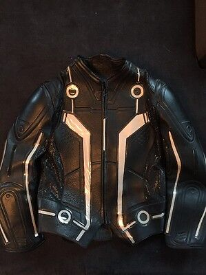 UD replica Cosplay Motorcycle Sam Flynn Tron Suit New Complete