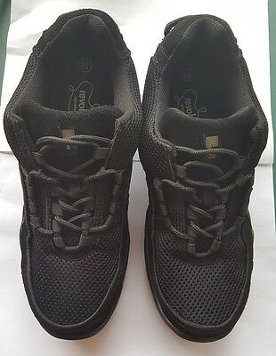 New Revolution Dance, Hip Hop Sneakers shoe Black Student Size 10,shows or class