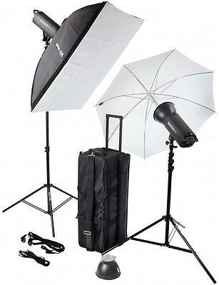 B.I.G. Helios 300P II Pro Flash studio Set Of 2