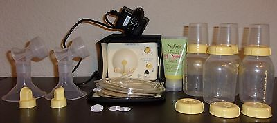 MEDELA  PUMP in STYLE ADVANCED BREAST PUMP with Bottles & Extras