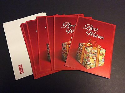 Campbell's Soup Company 2003 Lot of 6 CAMPBELL'S SOUP COMPANY Christmas Cards