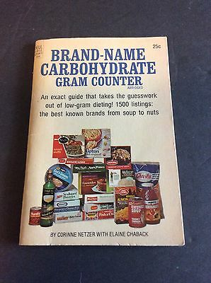 Campbell's Soup Related BRAND-NAME CARBOHYDRATE GRAM COUNTER