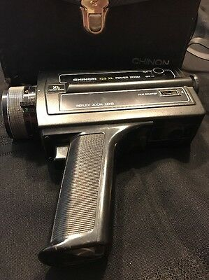 Chinon 723 XL Power Zoom With Case