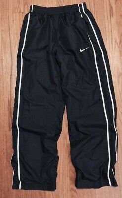 NIKE Boys SIZE L Large Navy Athletic Pants Back To School