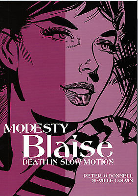 Modesty Blaise: Death In Slow Motion: O'Donnell, Colvin, Titan Books 2010 PB NEW