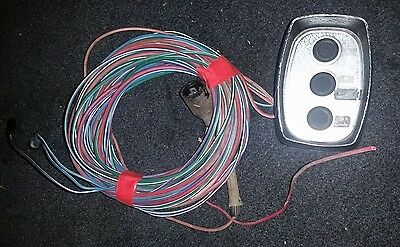 Mercruiser Mercury Trim Control Switch With Wiring Harness And Plug Ends.
