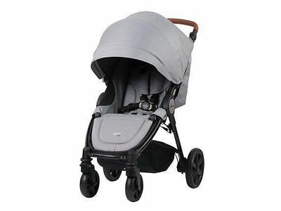 Steelcraft Agile Elite Baby Stroller -Grey Linen
