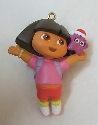 2005 Dora the Explorer Christmas Ornaments Miniatures 1 3/4 inches NICE! T25