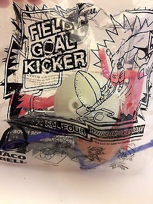 Taco Bell Field Goal Kicker Set New In Package, Date Prob Early 2000
