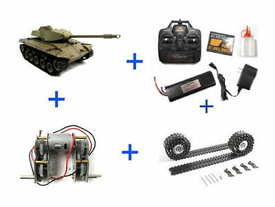 Special Henglong M26 Tank with Metal upgrades(Super 2.4G Version)