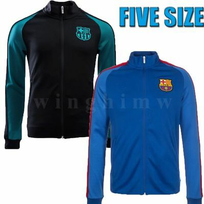 2017 Track Jacket Official Girls/Boys Football Sport Jacket Soccer Suit 5-15Ys