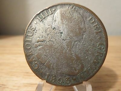 Bolivia 1803 Potosi P.J. Contemporary 8 Real/Reales Coin AS-IS Collection