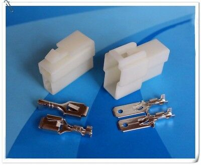 6.3mm 1 Way-8 Way Electrical Connector Wiring Harness Plug Socket Terminals