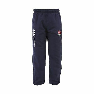 Canterbury England Rugby Boys Open Hem Stadium Pant Tracksuit Bottom All Ages