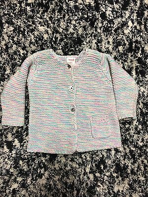 Baby Seed Heritage Knitted Cardigan Size 3 To 6 Months