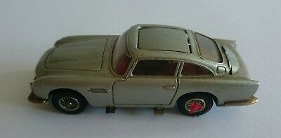 Corgi James Bond 270 Silver Aston Martin - Vintage & Original