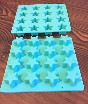 "⭐️x1 SILICONE MINI ""STAR"" TRAY MOULD~(MINI SOY WAX TART/MELT/SOAPS/CHOCS/FONDANT"