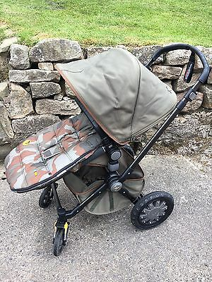 Bugaboo Diesel Edition Cameleon 3 Travel System Single Seat Stroller from birth