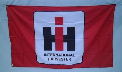 International Harvester Tractor 3' X 5' Polyester Flag Banner Man Cave NEW # 25