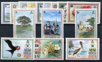 Anguilla 1972 short set to $5 SG130/44 MM