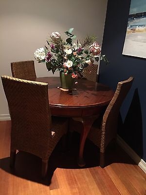 Dining Table... Blackwood ..Extendable