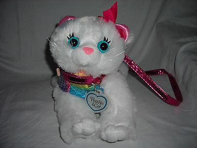 Girls Sparkly Kitty Cat Purse - Poochie & Co. - Super Cute!!