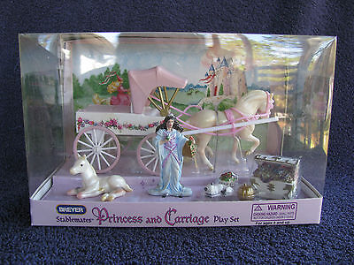 Breyer Stablemate Princes Carriage w/G1 Lying Foal NRFB!
