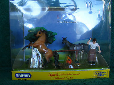 5311 Breyer Spirit Play Set With G1 Native Dancer