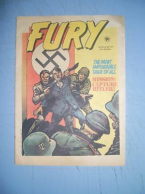 Fury issue 16 dated June 29 1977 Marvel UK