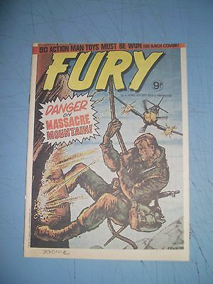 Fury issue 4 dated April 6 1977 Marvel UK