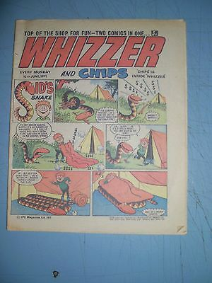 Whizzer and Chips issue dated June 12 1971